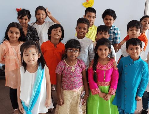 Diwali celebration at Planet Kids