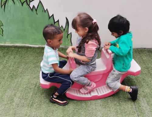 Explore & Learn – Nursery Activity Time!